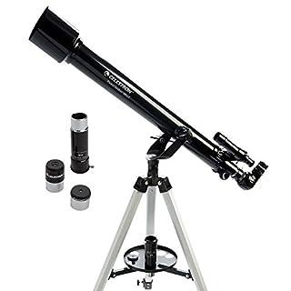 Celestron – PowerSeeker 60AZ Telescope – Manual Alt-Azimuth Telescope for Beginners – Compact and Portable – BONUS…