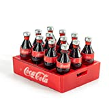 RC Car 1/10 Mini Coke Bottle and Tray Model Toys Decorative Accessories for CC01 RC4WD Axial SXC10 Tamiya D90 D110 TRX-4 Trx4 Rock Crawler Car TF2 (Silver)