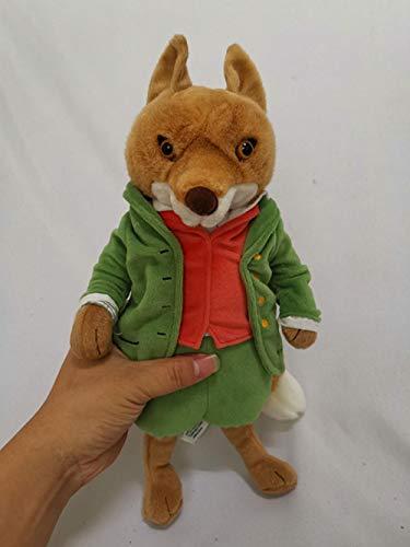 Plüschtier Baby Peter Rabbit Mr Tod Fox Plüschtier Groß 32Cm Süße Tiere Weich Kinder Baby Bevorzugte Spielzeuge Puppen Geschenke @ 32Cm_Green
