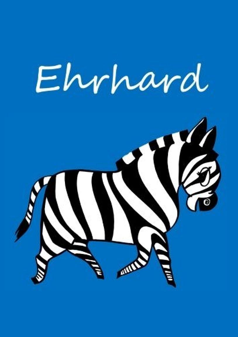 拍手ベスビオ山閉塞Ehrhard: individualisiertes Malbuch / Notizbuch / Tagebuch - Zebra - A4 - blanko