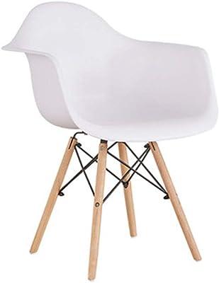 Amazon.com: Silla moldeada con réplica de estilo ...
