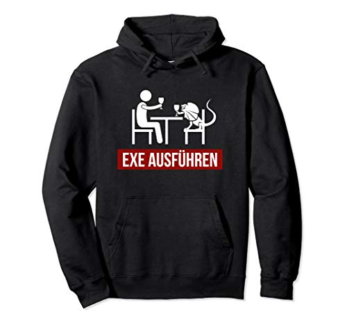 EXE Ausführen Sys Admin Sysadmin System-Administrator Pullover Hoodie