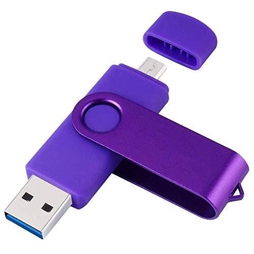 Fanuse 128Gb Colorful USB 3.0 Flash Drive OTG Pendrive Stick Micro-USB Memory...