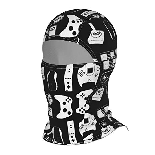 EYFlife Video Game Winter Ski Mask Balaclava Hood - Wind-Resistant Face Mask