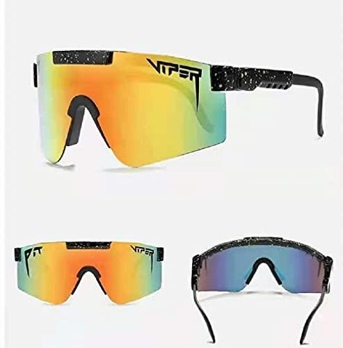 MERJON Sunglasses, Sports Polarized Sunglass for Cycling Baseball Running Driving Fishing Golf Skiing (C6)