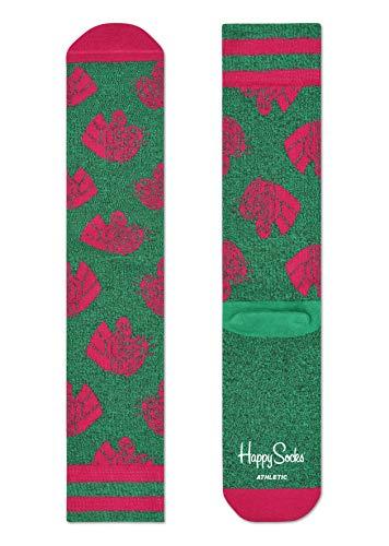 Happy Socks, bunt Sportlich Socken für Männer und Frauen, Green Mountain Lion (41-46)