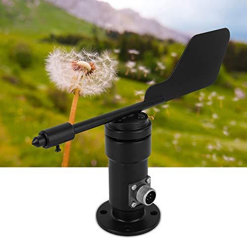 JULYKAI Windrichtungssensor, Gartensignalausgang Windrichtungssensor aus Aluminiumlegierung Windfahnen-Windsensor-Erweiterungsatlas-Wetterstation