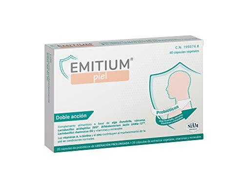 EMITIUM Piel. Cuida la piel desde el interior. Psoriasis o Dermatitis Atópica y otros trastornos de la piel.
