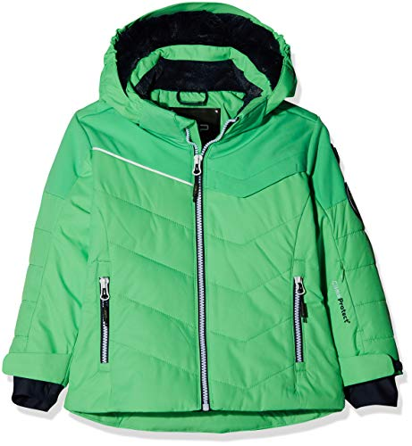 CMP Mädchen Wattierte 5000 Twill Skijacke Jacke, Ice Mint, 98