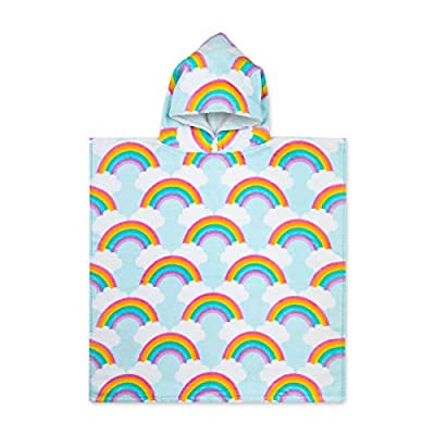 Baba & Bear Hooded Towel for Kids Swimsuit Cover Up for Beach, Pool, Bath
