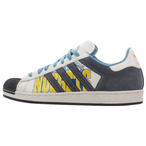 Adidas Superstar 1 Mens SZ 13 Blue Denver Nuggets Edition Sneakers Shoes
