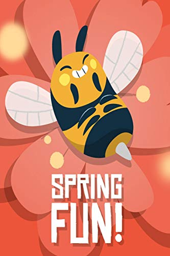 spring fun: Funny queen bee beekeeping Lined Notebook / Diary / Journal To Write In 6'x9' gift for beekeepers, farmers and gardeners