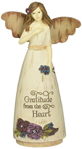 Pavilion Gift Company 03009 Thank You Angel Figurine, 6-Inch