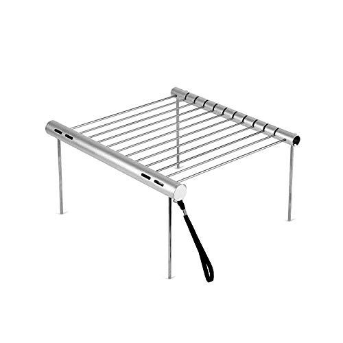 ELENKER Tragbare Campact Camping Grill, 27,9x 27,9cm