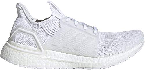 adidas Ultraboost 19 Shoes Men's, White, Size 12