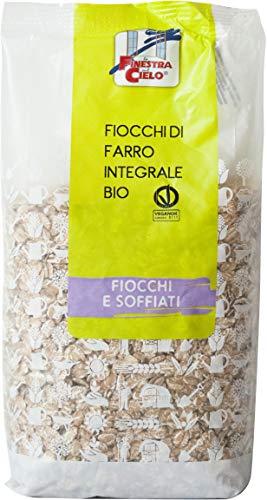 LA FINESTRA SUL CIELO Fiocchi di Farro Integrale Bio - 500 g