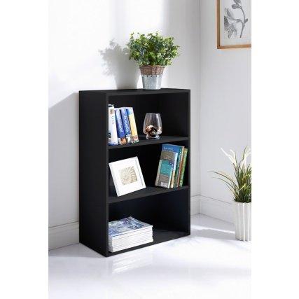 ChoicefullBargain Lokken libreria Una Soluzione Elegante portaoggetti a 3–Nero