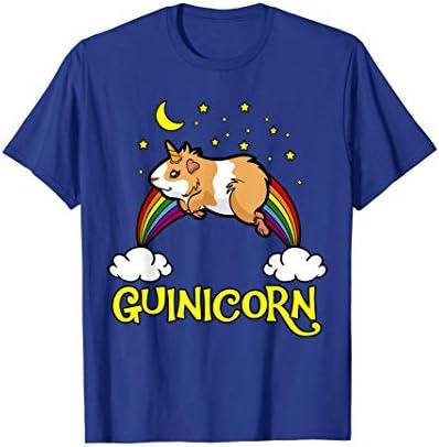 Guinicorn Guinea Pig Unicorn Rainbow Cloud Star Moon T Shirt product image