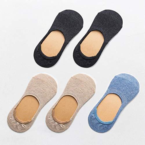 Zent Frühling Sommer Frauen Socken Einfarbige Mode Wilde Flache Mund unsichtbare Pantoffel weibliche Socken, 6