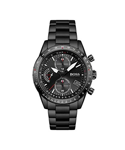 Hugo BOSS Men's Analog Quartz Watch with Stainless Steel Strap 1513854