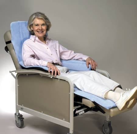 Cozy Seat with Backrest Pad for Geri-Chairs