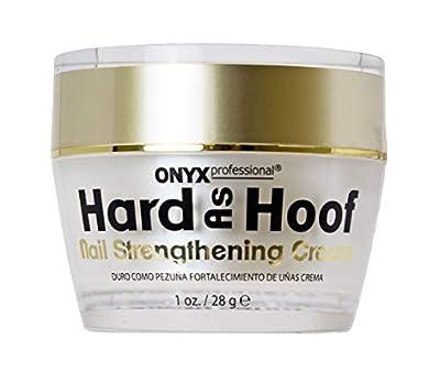 Hard As Hoof Nail Strengthening Cream with Coconut Scent Nail Strengthener & Nail Growth Cream Prevents Splits, Chips, Cracks & Strengthens Nails, 1 oz