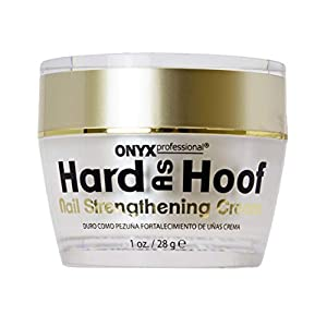 Beauty Shopping Hard As Hoof Nail Strengthening Cream with Coconut Scent Nail Strengthener, Nail Growth & Conditioning Cuticle Cream…