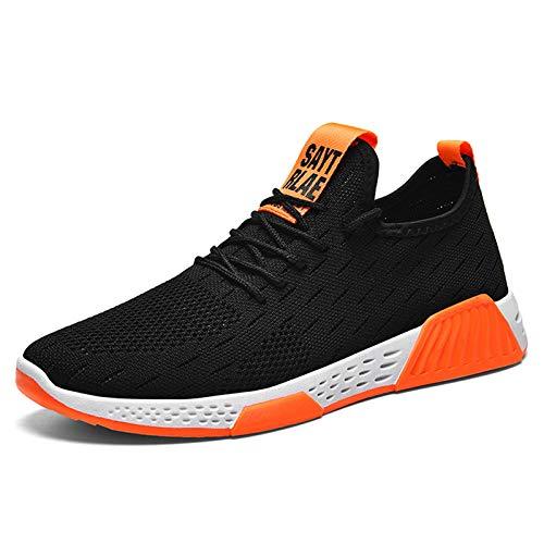 Tasdaker - Zapatillas de deporte para hombre (malla transpirable, deportiva), diseño de deporte, color, talla 43.5 EU