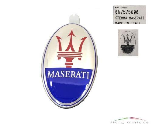 Maserati Original Dreizack Tredente Emblem Logo Stoßfänger vorne oval 67575600
