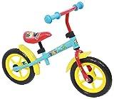 Bici Bicicletta Bimba Bimbo Senza Pedali 12 Pollici Teletubbies Gomme EVA Celeste Rosso Giallo - 85% assemblato