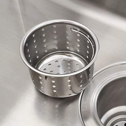 GZILA Kitchen Sink Drain Basket Only 3 inch Basket For Kitchen Sink Strainer Replacement Deep product image