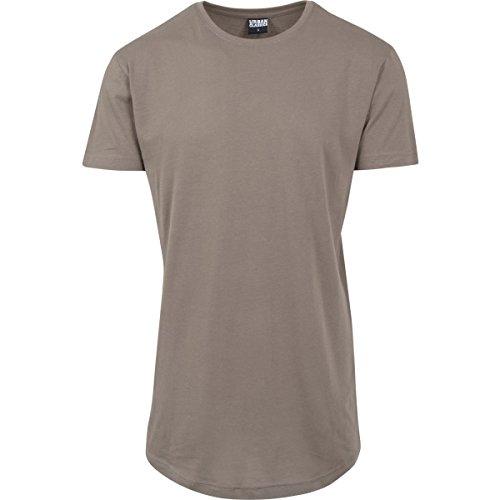 Urban Classics Shaped Long tee Camiseta, Verde (Army Green), XXL para Hombre