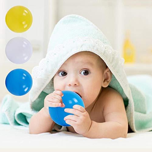 DAUERHAFT Bolas de plástico duraderas de plástico para hoyo 100 Piezas, para Piscina para niños
