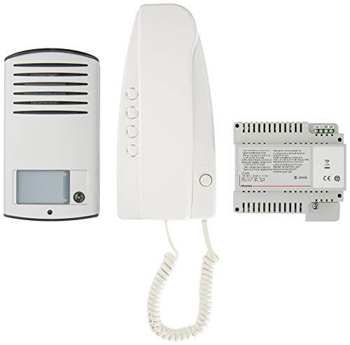BTicino 363211 Kit Audio analogico monofamiliare con Posto Esterno Linea 2000 e citofono Sprint