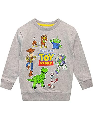 Disney Chłopcy Bluzy Toy Story Szary 92
