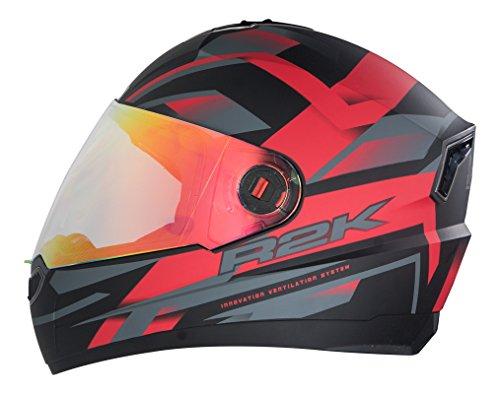 Steelbird R2k Night Vision Full Face Helmet Matt Black and