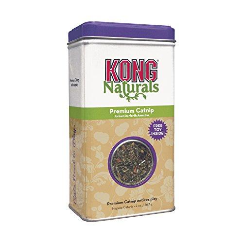 KONG - Naturals Premium Catnip - Hierba gatera de cultivo norteamericano -...