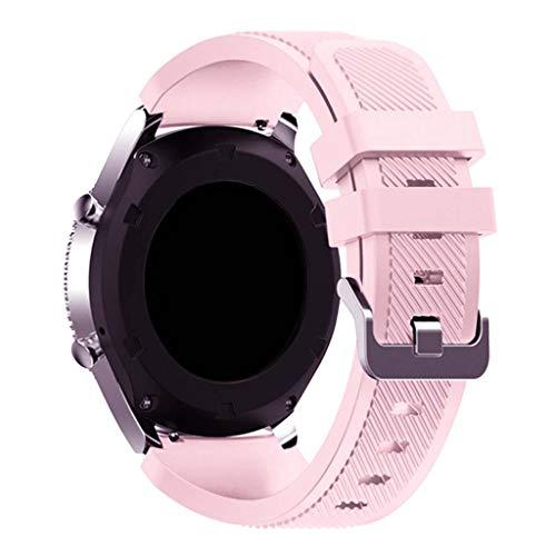 kdjsic Correa de Silicona de 22 mm para - GTR, Reloj GT2 (Pro), Reloj Inteligente Galaxy Watch3, Pulsera Oficial con la Misma Pulsera