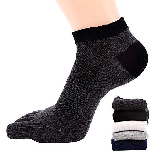 5-Zehen-Socken Herren Sport Socken laufende Zehen Socken / Sportsocken, 5 Paar