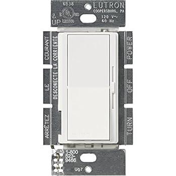 Lutron DV-10P-WH PRESET DIMMER White