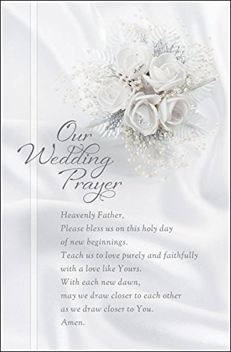 "Standard Bulletin 11 - Wedding - ""Our Wedding Prayer""... (Pack of 100)"