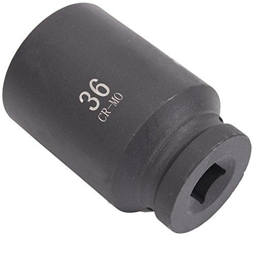 CCLIFE 12 caras 36mm 1/2' llaves de vaso,Vaso impacto hexagonal Classic