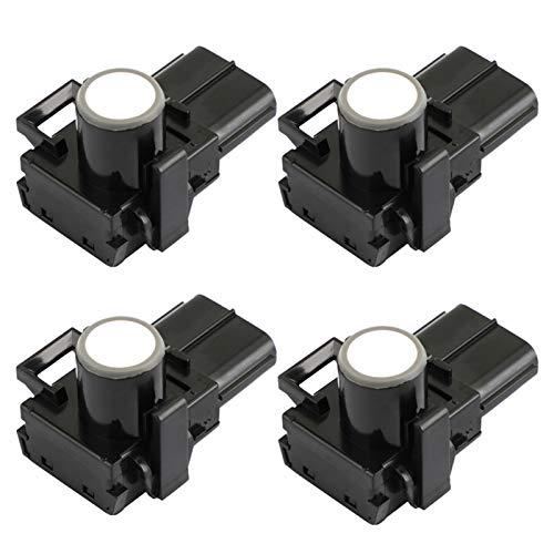 FANGFANG Want Want Lin 4PCS Sensor de Aparcamiento Sensor PDC Fit para Toyota Camry Corolla - Lexus RX350 Número de Pieza: 89341-33180 (Color : Black)