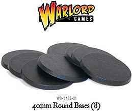 Hobby 40mm Round Bases (8) Blister Pack