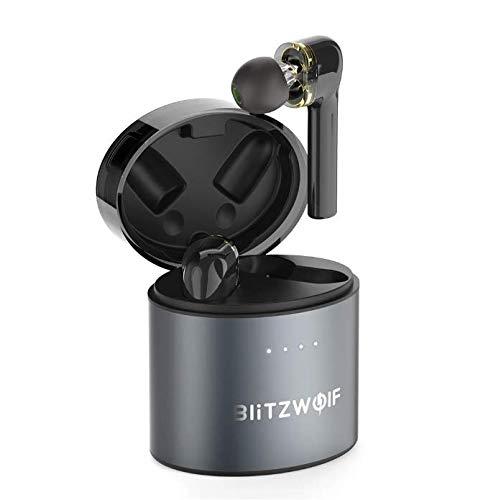 Fone Blitzwolf Bw-Fye8 Bluetooth 5.0 Sem Fio TWS Qcc3020 Grafeno Ipx5 Duplo Driver Dinamico