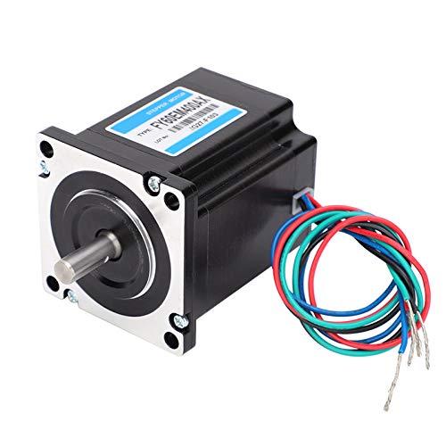 Motor paso a paso de 3,2 Nm, fresado de baja autoinductancia, mesa plana única, motor paso a paso estable de 2 fases, 0,7 Ω para transmisión de control de motor industrial