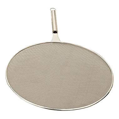 RSVP Endurance Double-Fine Mesh 18/8 Stainless Steel Extra Large 15-inch Splatter Screen