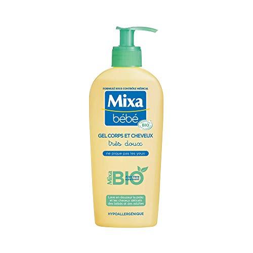 Mixa Baby Körper- und Haargel, Bio 250 ml, 1 Stück