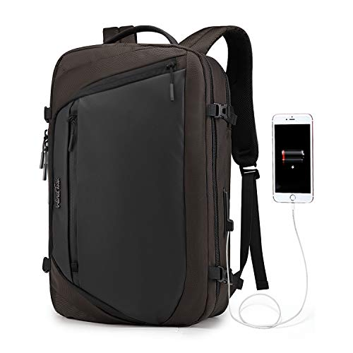 Wind Took Large Laptop Backpack with USB Charging Port for 17 Inch Laptop and Notebook Casual Daypack Water Resistant Carrying Bag Rucksack for Travel/Business/College/Women/Men 32 x 17 x 52 cm