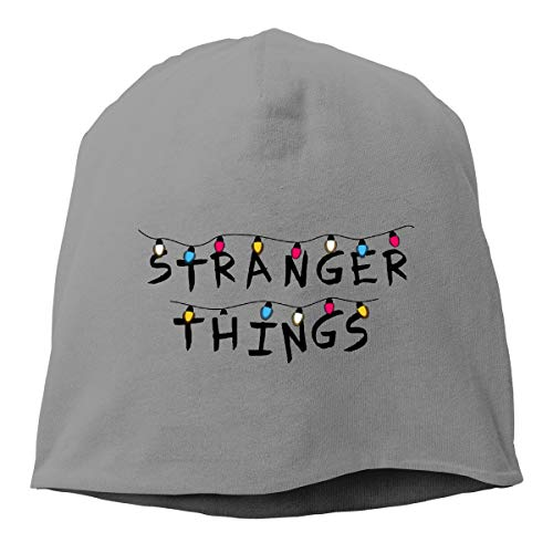 xy Stranger Things Unisex Autumn/Winter Knit Cap Hedging Caps Casual Beanie Hats
